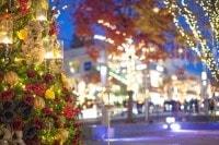 クリスマスのイルミネーション