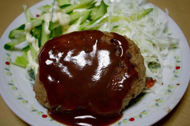 方 ハンバーグ コツ 焼き