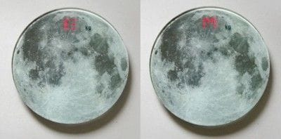ムーンスケール(地球モードと月モード表示)