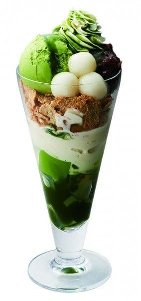 nana's green tea「抹茶白玉パフェ」(820円/税込)