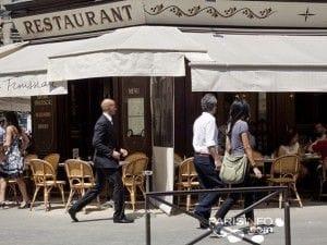 フランスのレストラン
