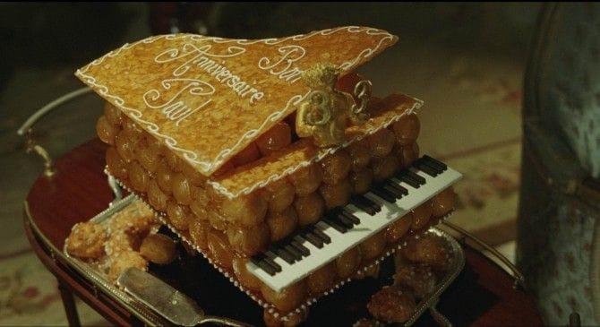 ポールの誕生日ケーキ(映画『ぼくを探しに』から)