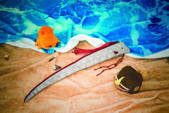 「ギョッ!とびっくり かたちイロイロ深海魚ポーチ<基本編>の会」