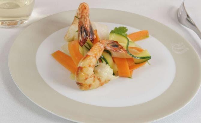 ラ・プルミエールで提供される料理の一例