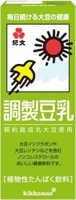 「調製豆乳」90円(税別)