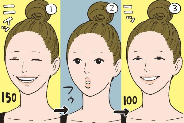 目が笑うことを意識。自然な笑顔を作るための練習法