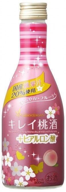 『キレイ桃酒 300ml』(月桂冠/税抜380円)