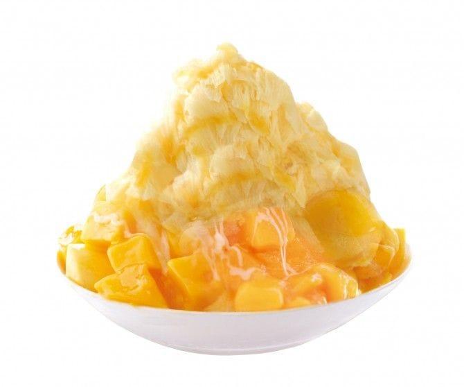 日本でも話題となった「マンゴーかき氷」は、見た目も味も絶品