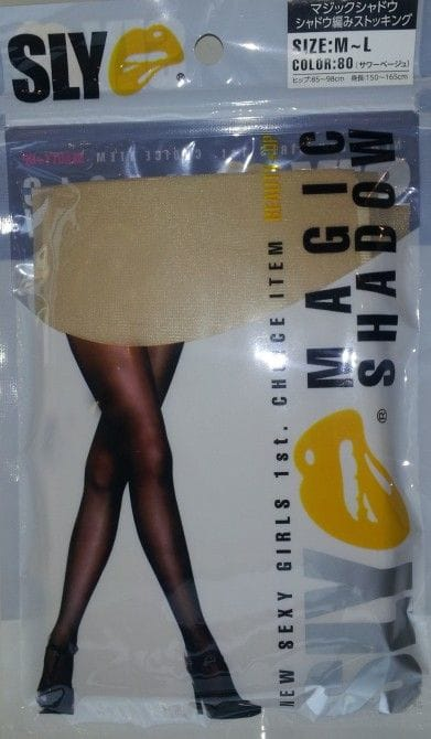 「SLY マジックシャドウ シャドウ編みストッキング」(砂山靴下)、希望小売価格700円(税別)
