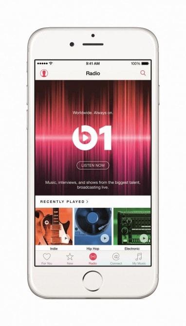 最新の洋楽情報やトークはラジオ「Beats 1」でチェック!