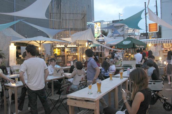 開放的な雰囲気のAntenna<>WIRED CAFÉ