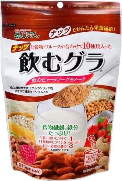 「飲むグラ ナッツ」(味源)、希望小売価格500円(税別)