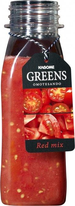 トマトをメインに仕上げた「Red mix」