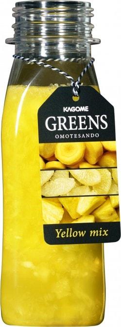 黄人参やパイン、グレープフルーツなど黄色の原料が目立つ「Yellow mix」