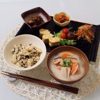 定番和食で健康朝食!