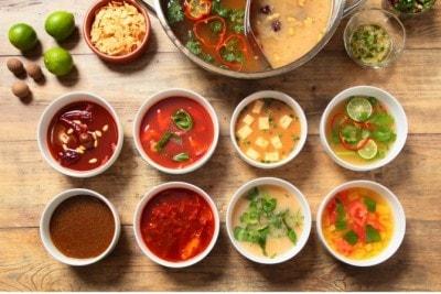 8種のスープ