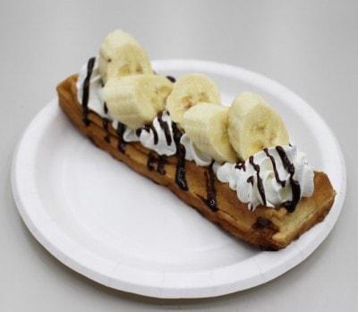 スイーツ界最強の組み合わせ「チョコバナナ」500円(税抜き)