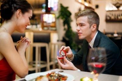 理想的なプロポーズのシチュエーション