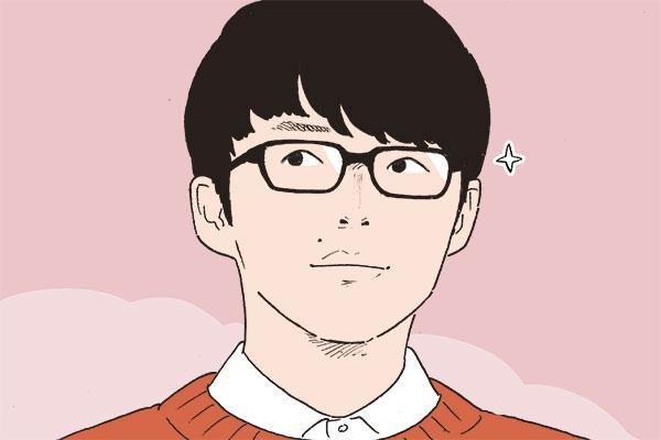 メガネが似合うイケメン芸能人「星野源」