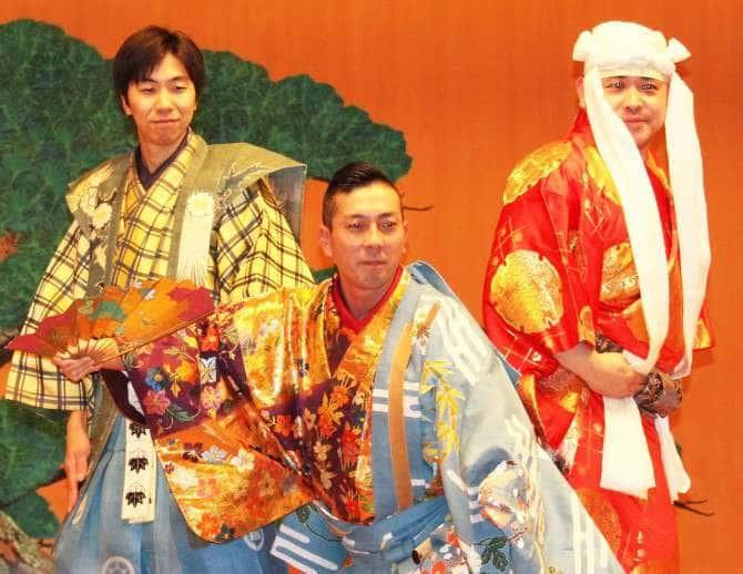 「花子(はなご)」を演じた演者3人