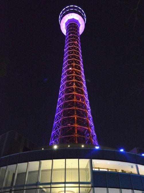 横浜マリンタワー「ウィンターイルミネーション」