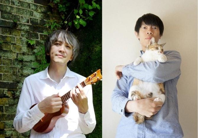 近藤研二(写真左)&山田稔明(写真右)