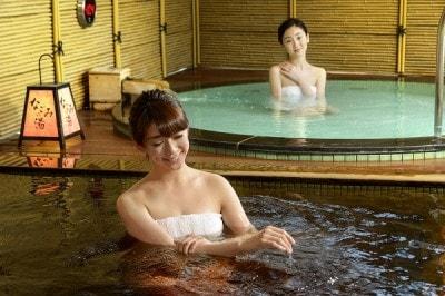 なごみの湯2階 露天風呂