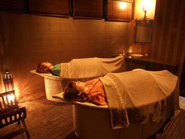 カップルでハマム浴を楽しめるFATIMAのハマム浴(45分/4,400円〜)