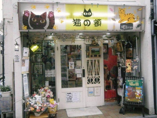 「猫作品を通して命の尊さや大切さを考える」をコンセプトにするお店は中も外も猫だらけ!