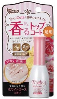 「《フットメジ》香るトップコート ホワイトローズの香り」(税別900円)