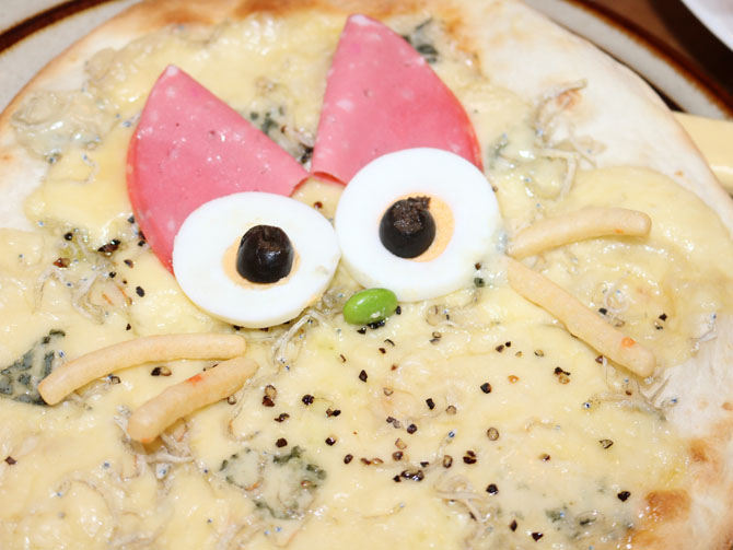 「チーちゃんピザ」