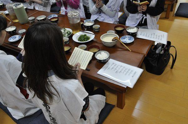 精進料理・ダイエット体験修行