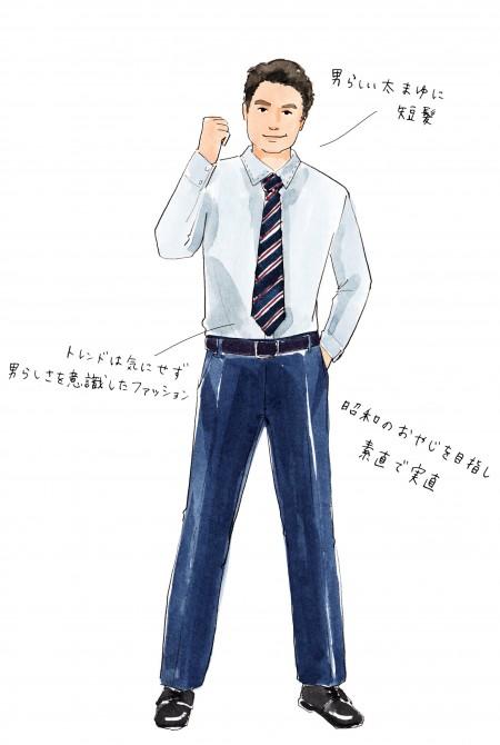男性図鑑Vol.11】「昭和男子タイ...