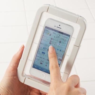 スマートフォン用防水ケース 1,600円(税込み)