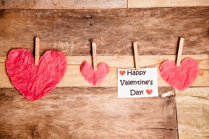 バレンタインチョコをプレゼント