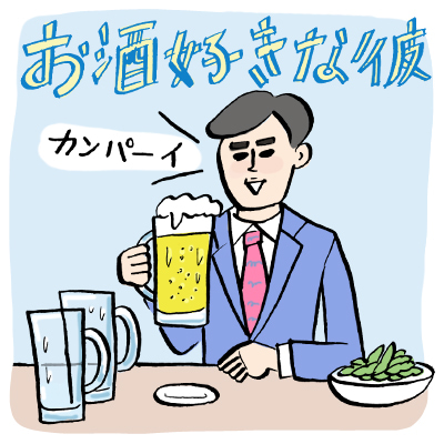 「お酒好きな彼」へのプレゼント