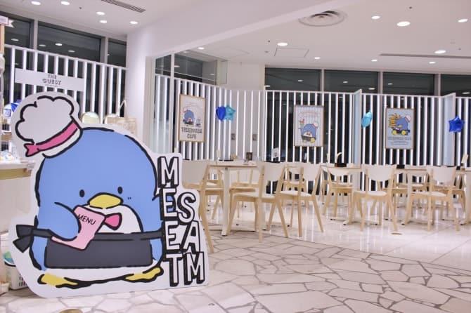 渋谷ヒカリエにオープンした「タキシードサム カフェ」。