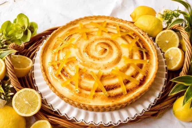 新製品 レモンとクリームチーズのタルト〜コリアンダー風味