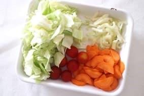 野菜ざく切り