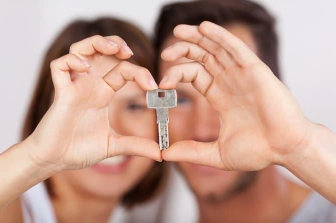 同棲カップルの鍵