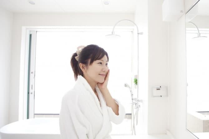 お風呂上り