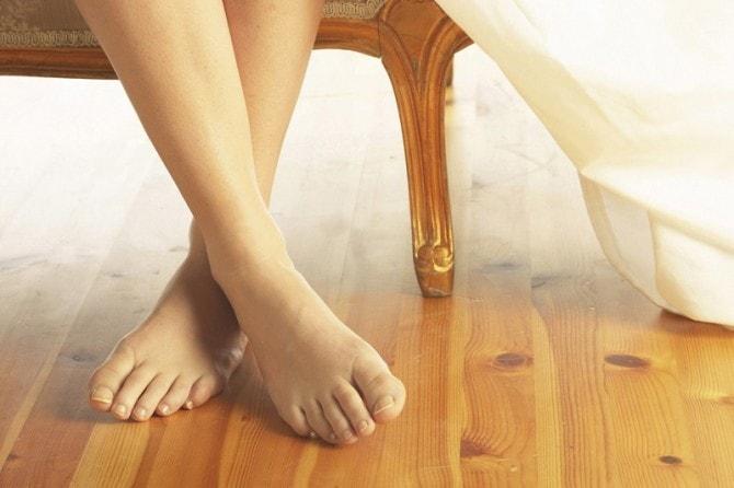 きれいな足