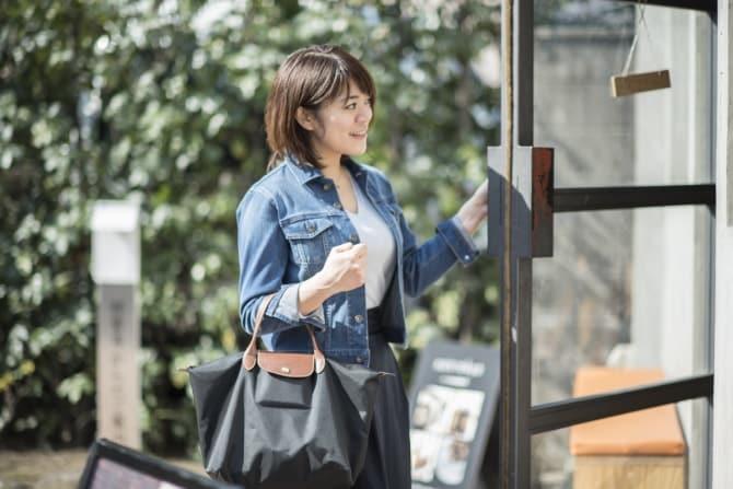 人とのご縁が大切。フードコーディネーターのロンシャンのバッグ #私たちのしごとバッグ