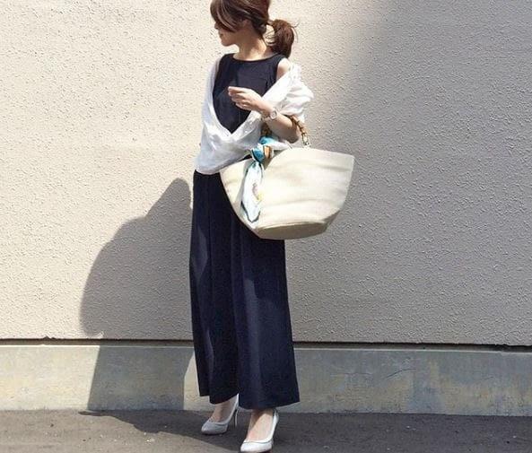忙しい朝は、文句なくオシャレに仕上がるセットアップでキマり #東京365日コーデ