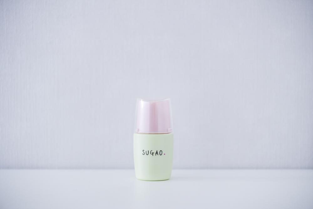 SUGAO シルク感カラーベース(グリーン)