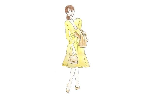 結婚挨拶の服装(春と秋)