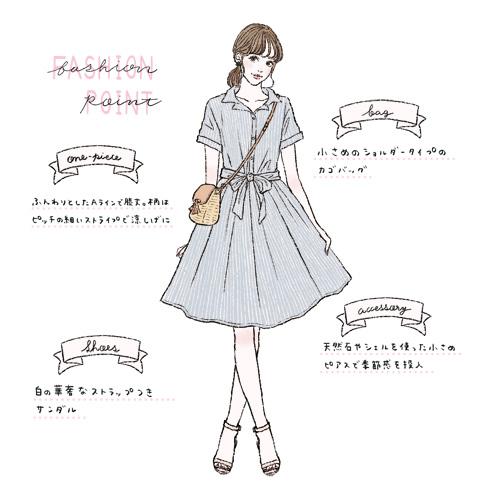 イラストで解説! 合コンでモテる女性の服装ガイド【20代30代別