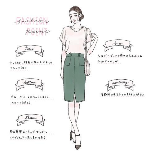 30代が夏に着るべき合コンファッション