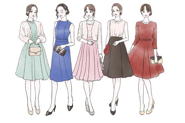 結婚式の服装マナー【20代女性向け】