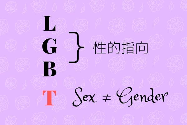 LGBとTは同列ではない